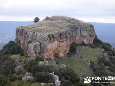 Senderismo Guadalajara - Monumento Natural Tetas de Viana.; club solteros madrid